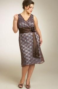 13 Hermosos vestidos de fiesta ideales para gorditas (7)