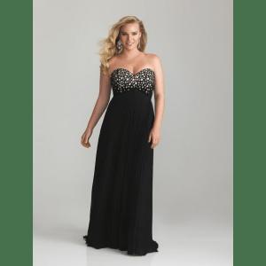 Galería de imágenes con 13 vestidos para gorditas (6)