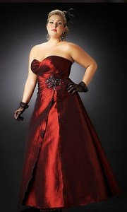 12 Vestidos con corsé para gorditas (6)