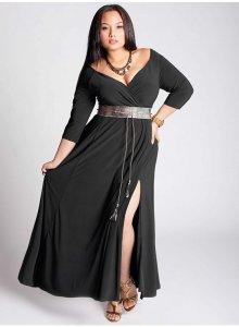 12 Bonitos vestidos de fiesta para gorditas corte imperio (12)
