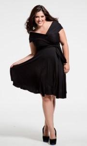 11 Bellos vestidos de fiesta para mujeres con panza (6)