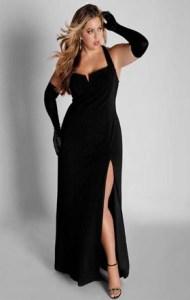 10 Hermosos vestidos de gala para gorditas bajitas (12)