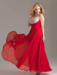 11 Bellos vestidos de fiesta para gorditas rojos (2)