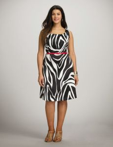 10 nuevos diseños de vestidos de fiesta para gorditas a media pierna (6)