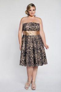 10 nuevos diseños de vestidos de fiesta para gorditas a media pierna (8)