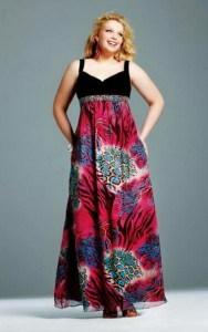 10 vestidos de fiesta para señoras gorditas de 60 años (2)