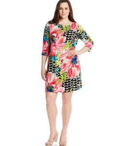 10 Nuevos modelos de vestidos de fiesta para gorditas con flores (2)