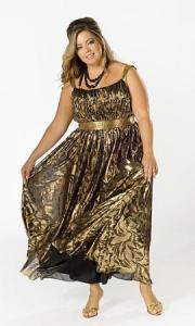 11 Modelos de vestidos brillantes para gorditas (1)