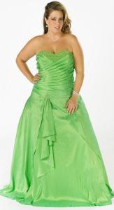 11 Modelos de vestidos brillantes para gorditas (8)
