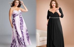 11 Modelos de vestidos de fiesta para mujeres gorditas y bajitas (5)