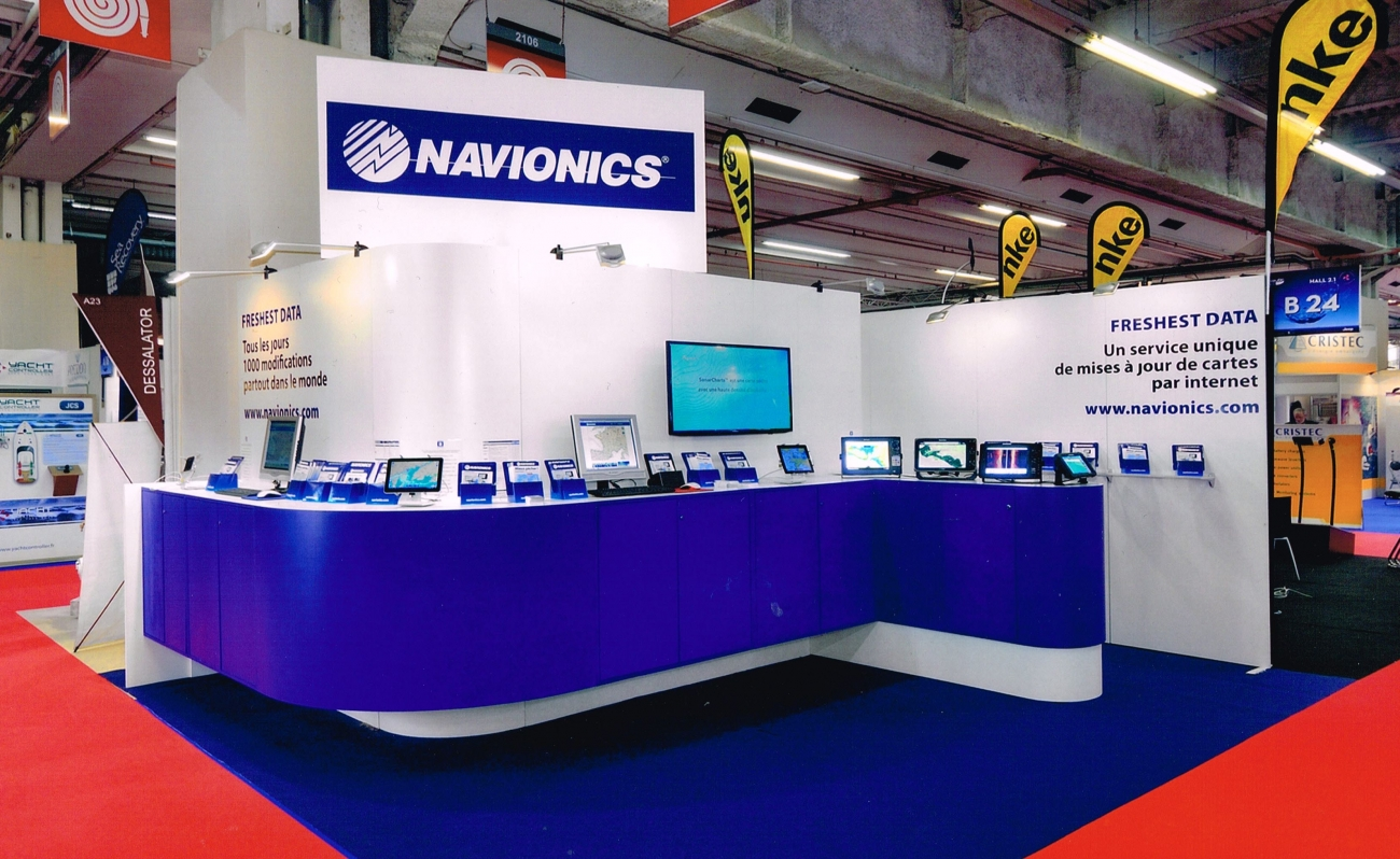 Salon Du Meuble 2015 Stand Navionics Salon Du Nautic 2015