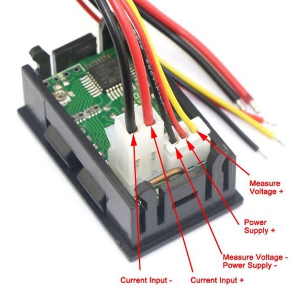 volt amp meter wiring diagram