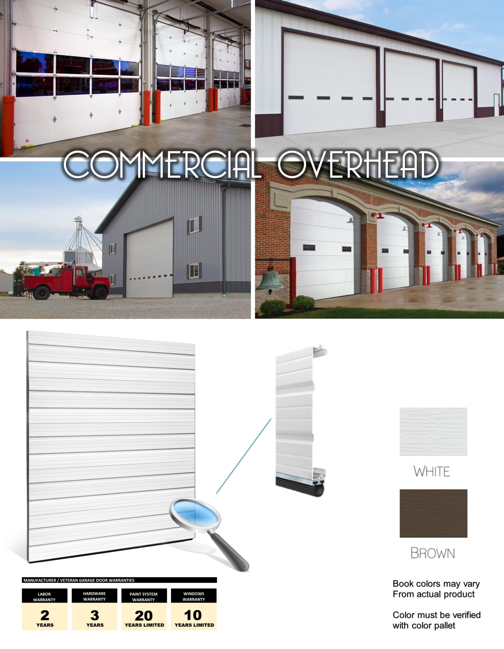 Garage Door Parts Near My Location Commercial Garage Doors Installation Veteran Garage Door
