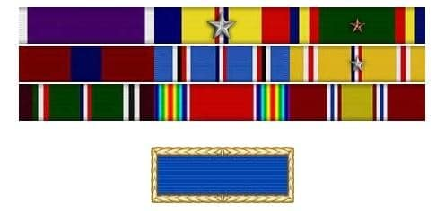 William Bill Livingston Medal Rack Marine Corps