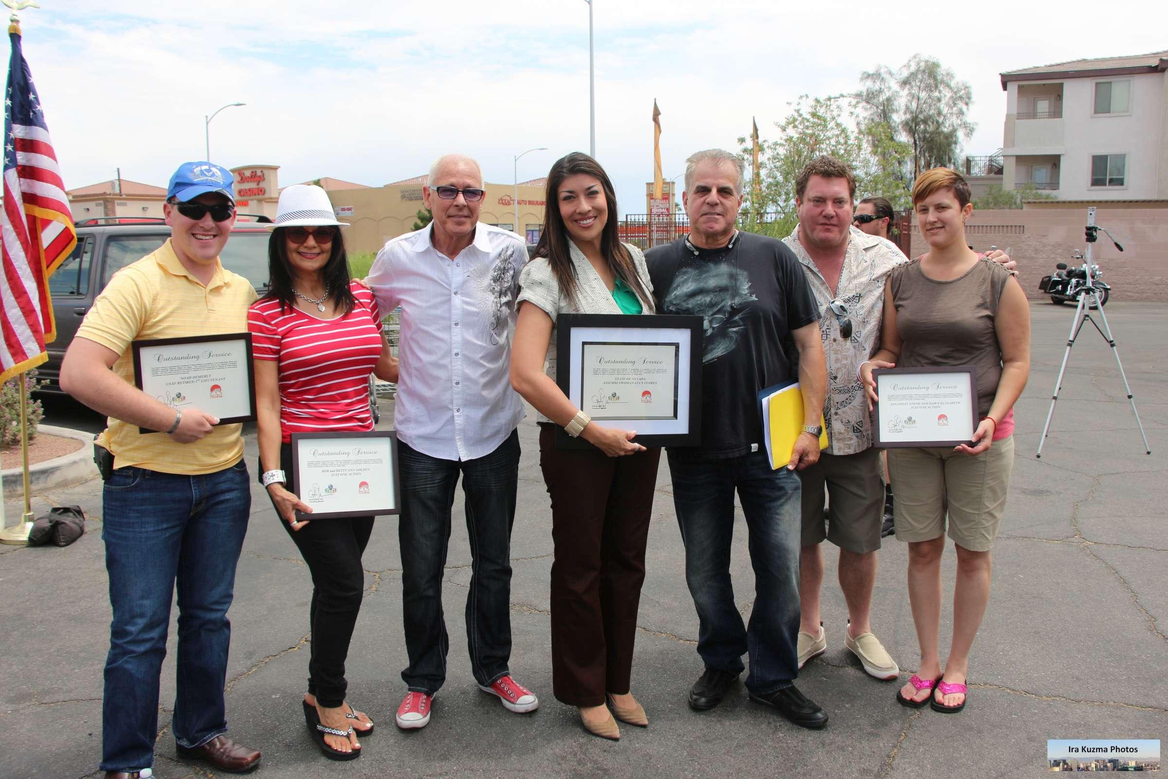 Freebies for veterans in las vegas