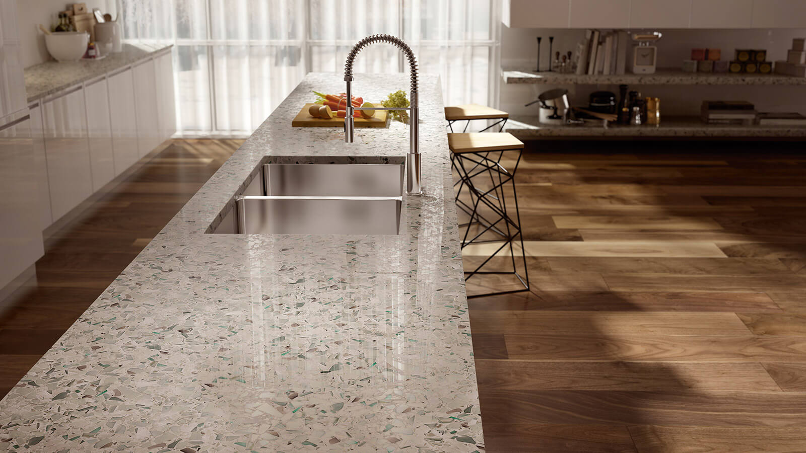 Think Glass Countertops Vetrazzo Recycled Glass Countertops Mosaics Tiles Flooring