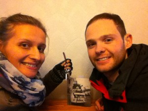 Picture of us with our new home keys. Yes, d/Deaf people can buy homes too with hearing people! I know, its shocking!
