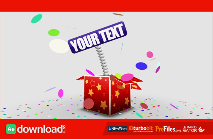 VIDEOHIVE GIFTBOX AFTER EFFECTS TEMPLATE FREE DOWNLOAD - Free After - gift box templates free download