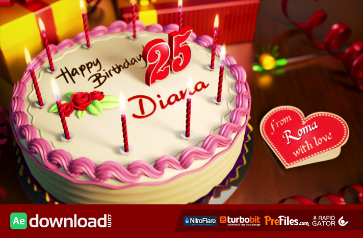 happy birthday Archives - Free After Effects Template - Videohive