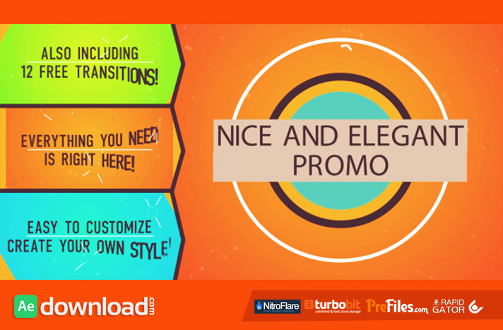 NICE AND ELEGANT PROMO - (VIDEOHIVE TEMPLATE) - FREE DOWNLOAD - Free