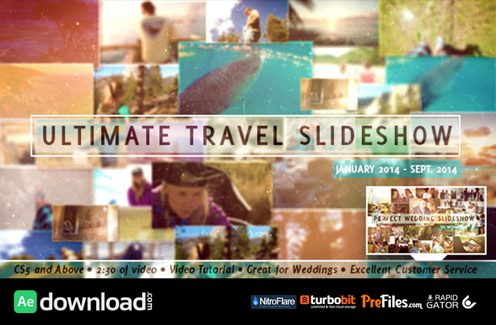 VIDEOHIVE ULTIMATE TRAVEL SLIDESHOW - FREE DOWNLOAD - Free After