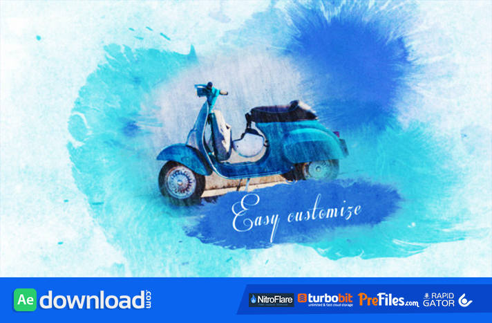 WATERCOLOR SLIDESHOW (VIDEOHIVE) - FREE DOWNLOAD - Free After