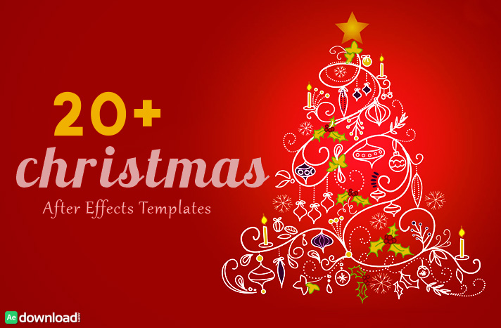 30 Top Christmas After Effects Free Template - Free After Effects - free templates christmas