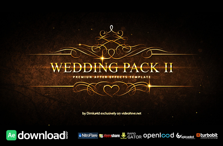 WEDDING PACK II FREE DOWNLOAD VIDEOHIVE TEMPLATE - Free After - wedding template