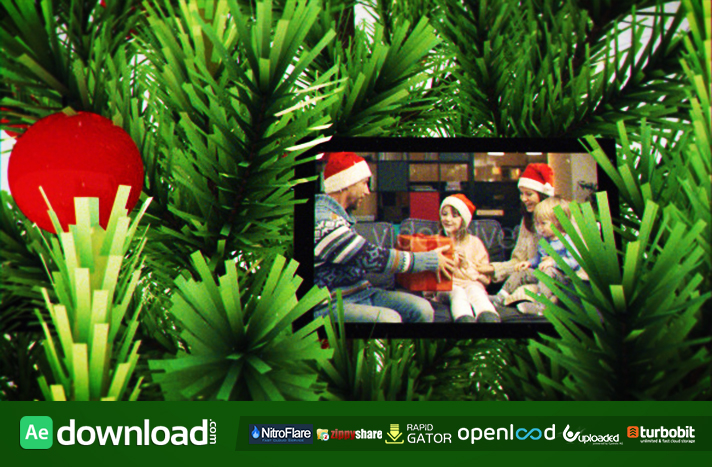 THE CHRISTMAS TREE - FREE AFTER EFFECTS TEMPLATE (VIDEOHIVE) - Free