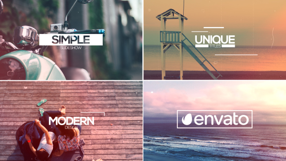 VIDEOHIVE SLIDESHOW 15675446 - AFTER EFFECTS TEMPLATES - Free After