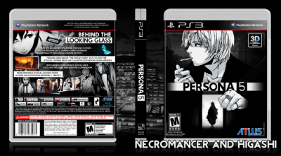 Persona 5 PlayStation 3 Box Art Cover by Necromancer