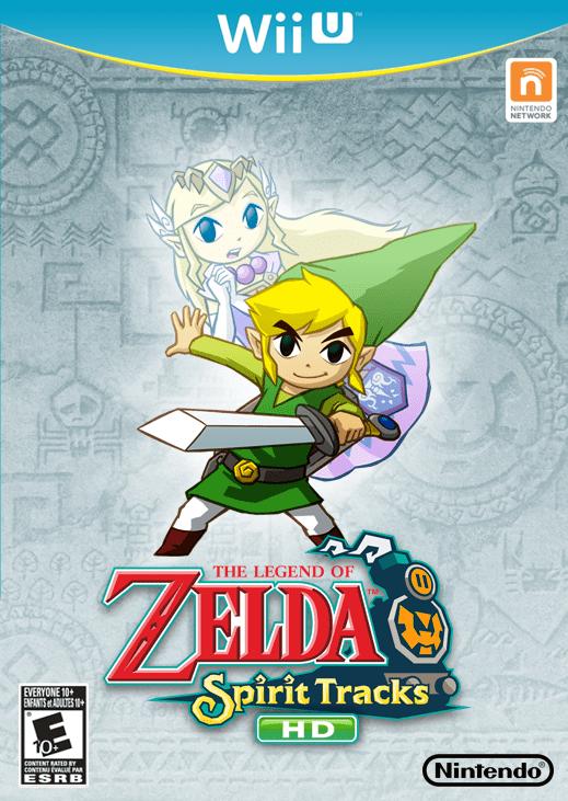 Legend Of Zelda Breath Of The Wild Wallpaper Hd The Legend Of Zelda Spirit Tracks Hd Wii U Box Art Cover