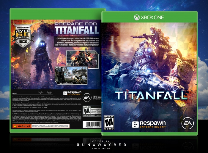 Live Fall Wallpaper For Pc Titanfall Xbox One Box Art Cover By Runawayred