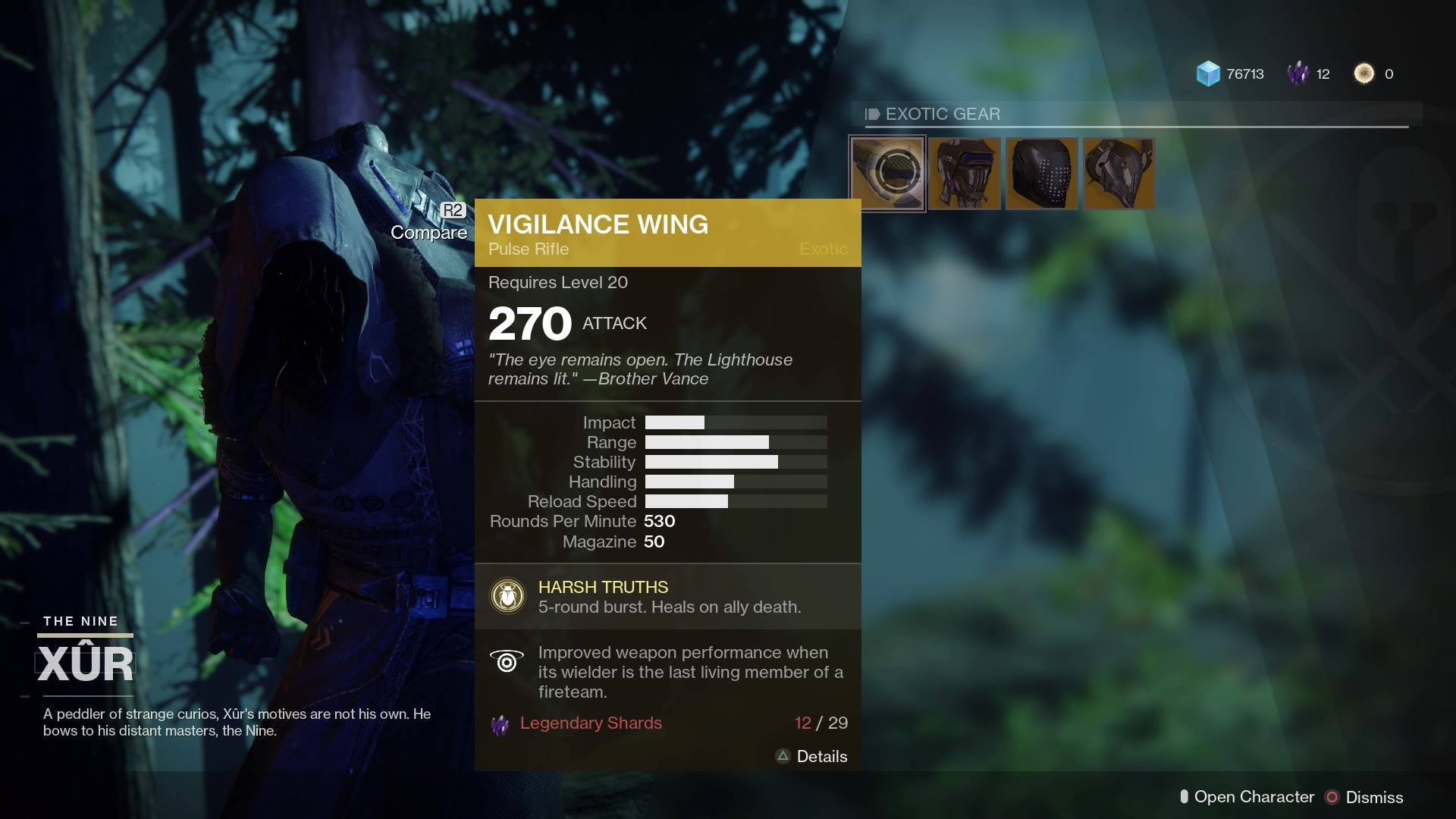 Xur Xur S Location For The Weekend Of 10 6 Vgculturehq