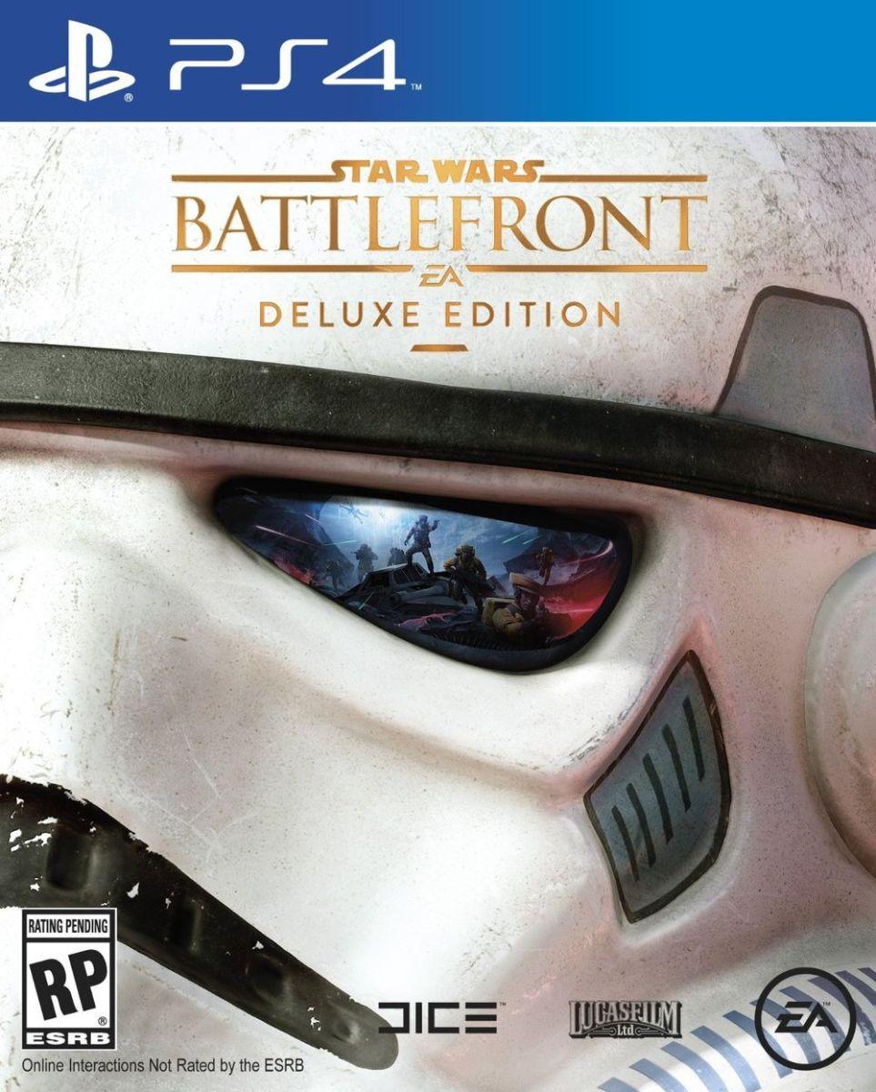 Chequen la épica portada de la Deluxe Edition de Star Wars Battlefront