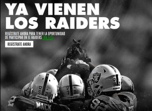 Imagen: Pagina Raiders Fan Fest