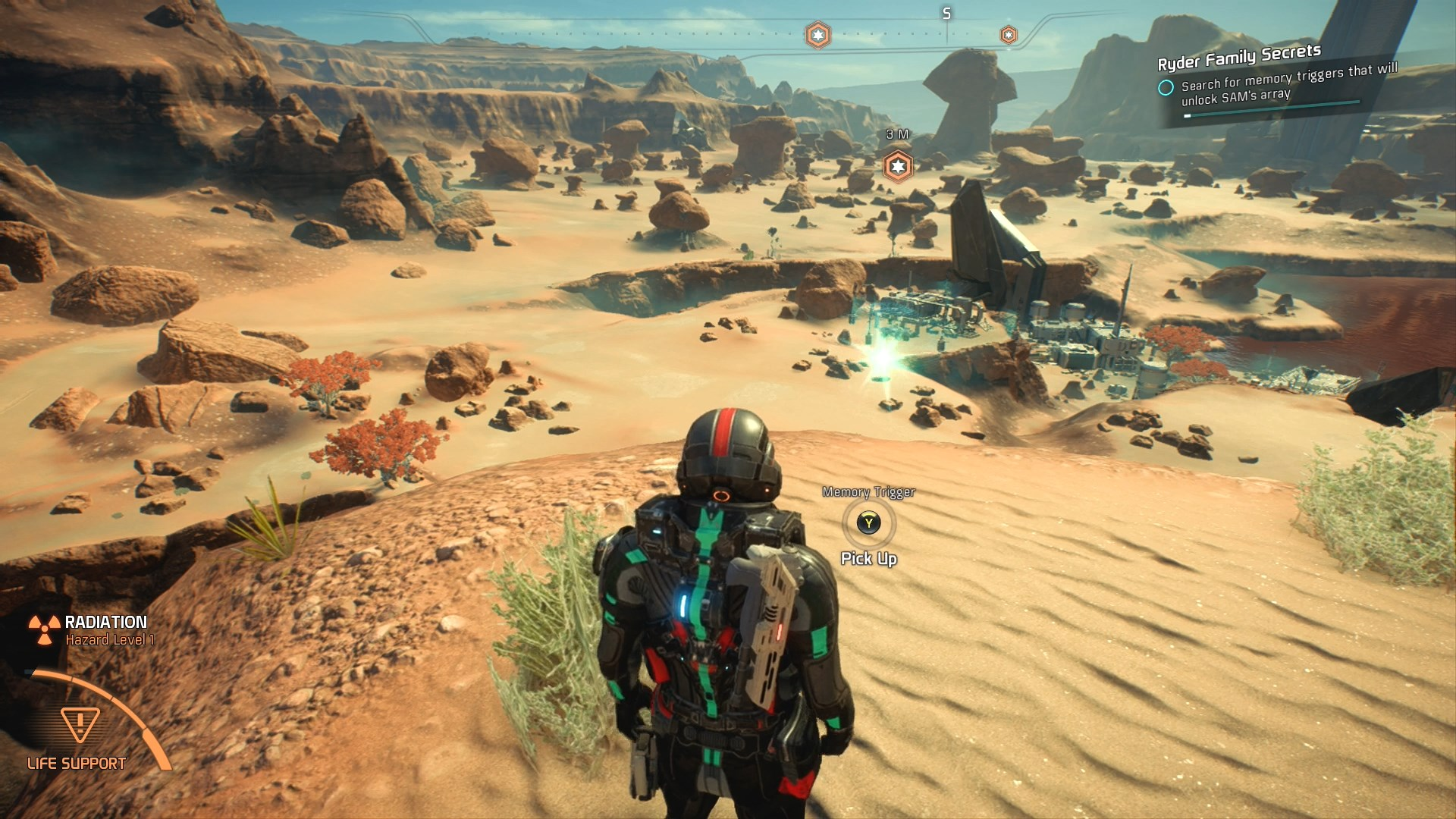 Mass Effectandromeda Mass Effect Andromeda Memory Triggers Locations Guide