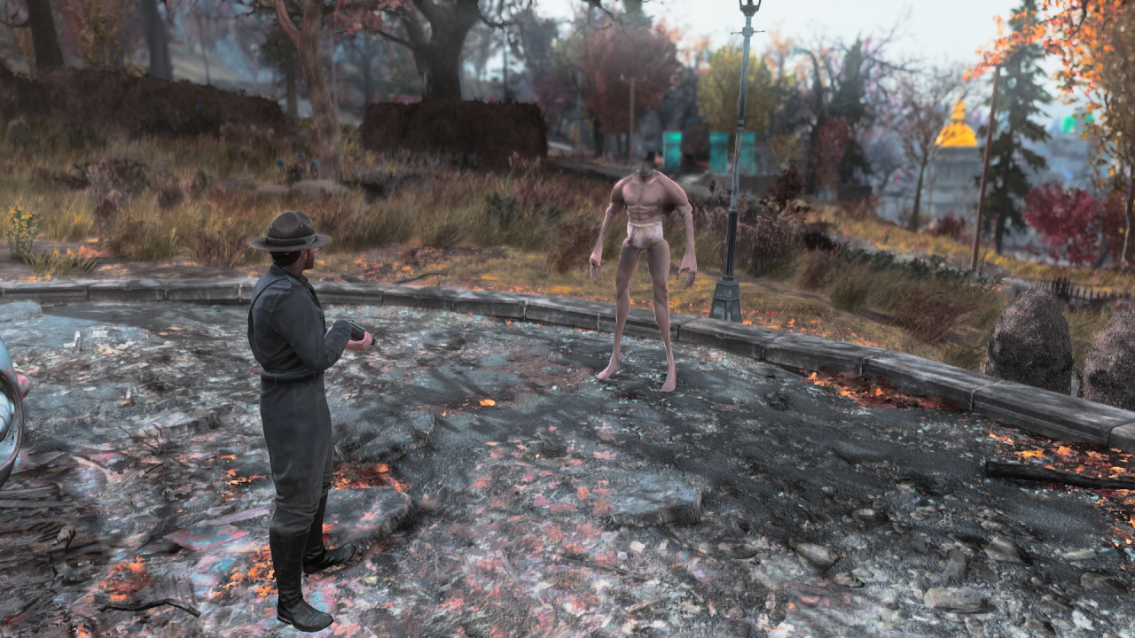 Fallout 76 Power Armour Bug Turns Players Into Creepy
