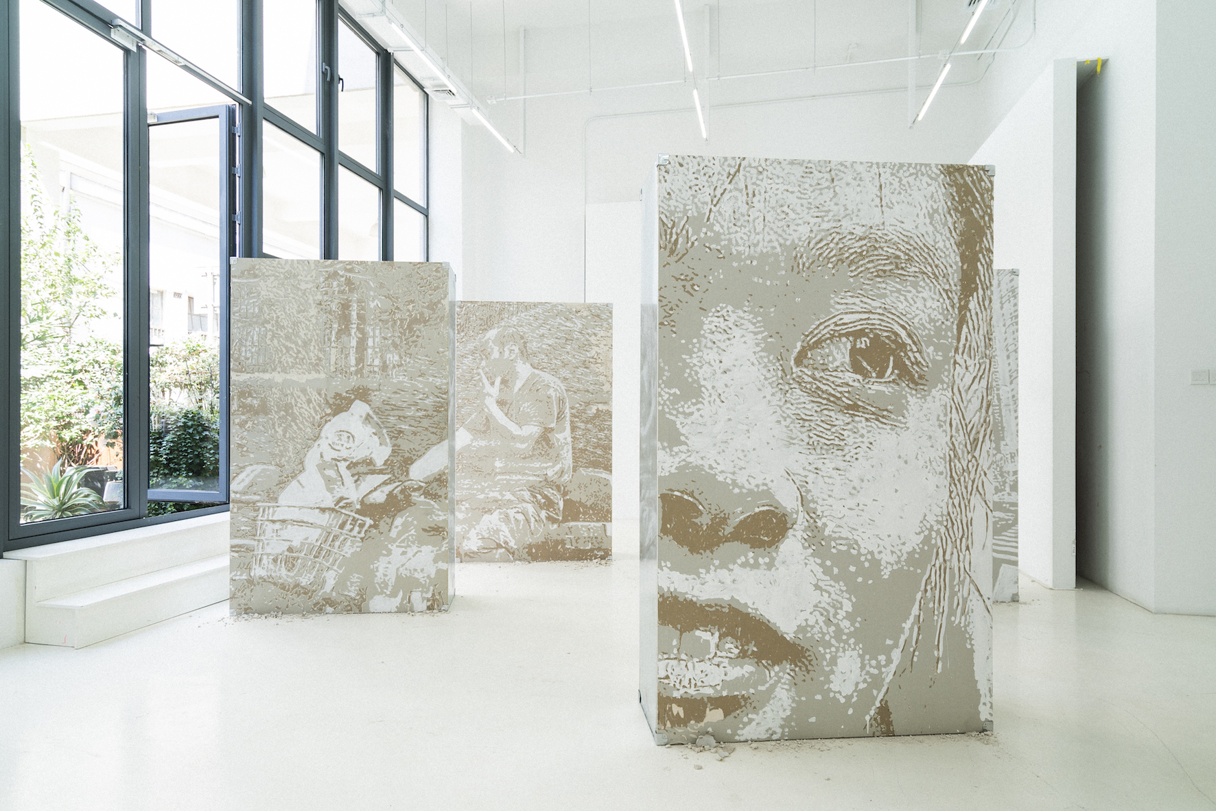 Arte Visual Brasil Vhils Exhibitions