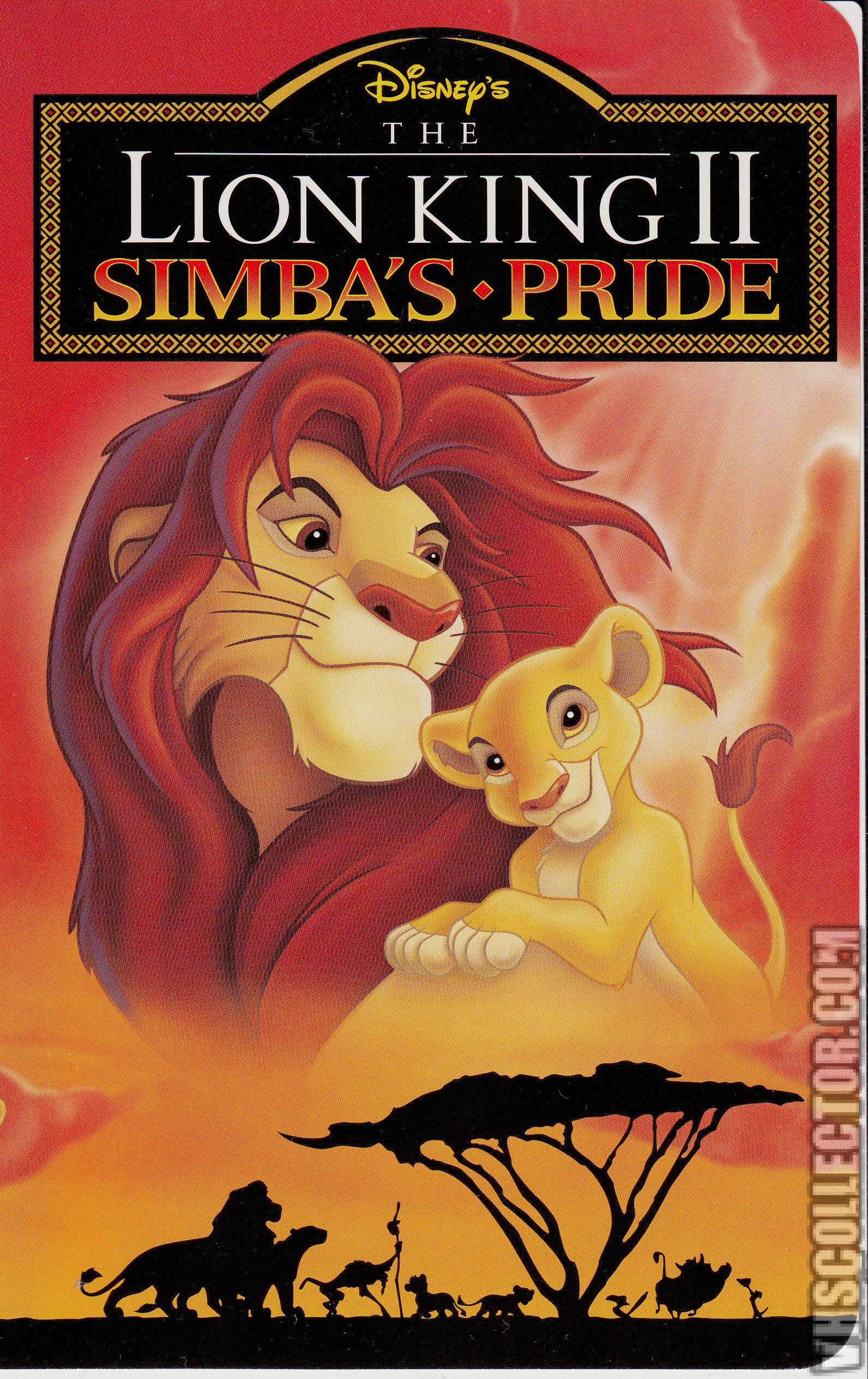 lion king original vhs