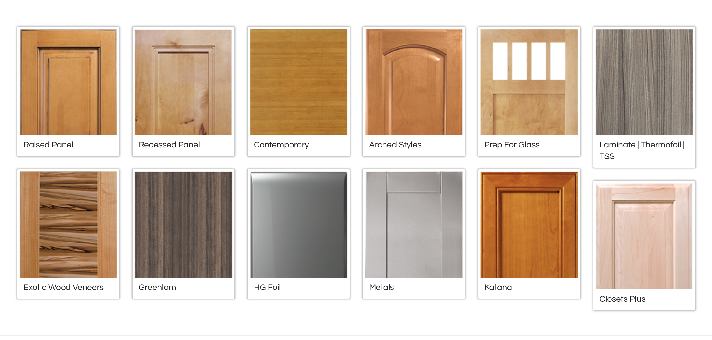 Kitchen Cabinet Door Styles Pictures Cabinets For Any Budget In Sonoma Marin Napa Canyon