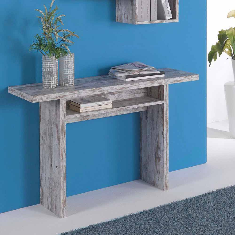 Table 140 Cm Extensible Extendable Console Table Pau, Up To 120 Cm Of Lenght