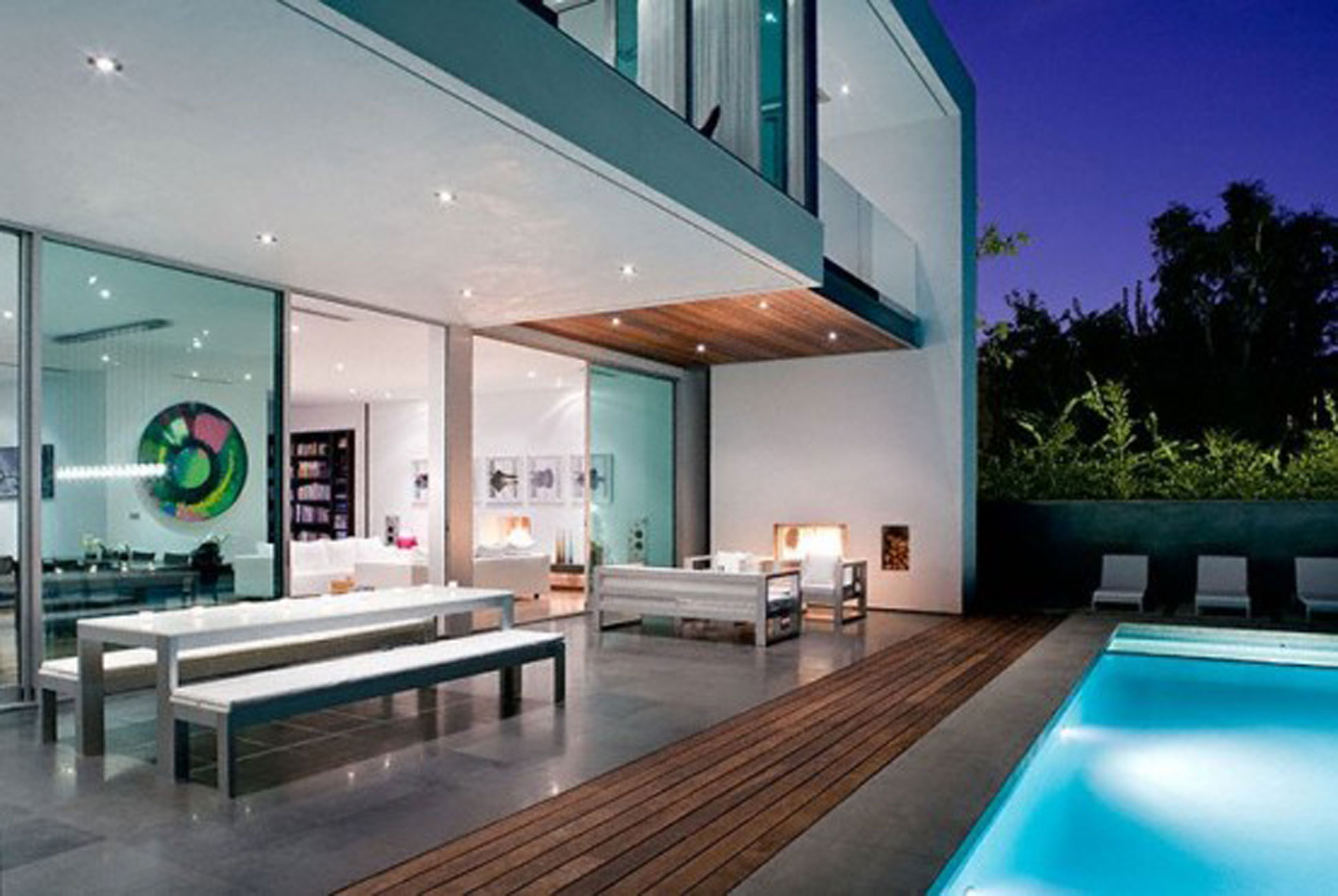 Modern House Plans With Pool Modern House Design With Comfortable Interior Ideas Pool
