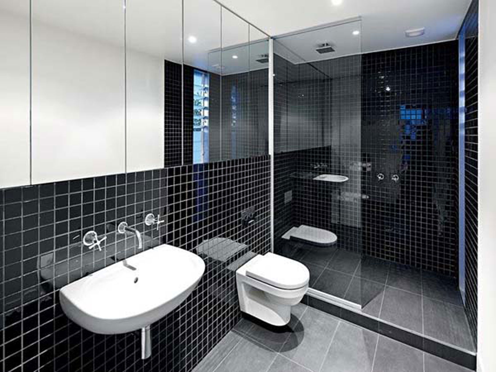 Bathroom Home Interior Design Modern Interior Design Of An Industrial Style Home In Melbourne