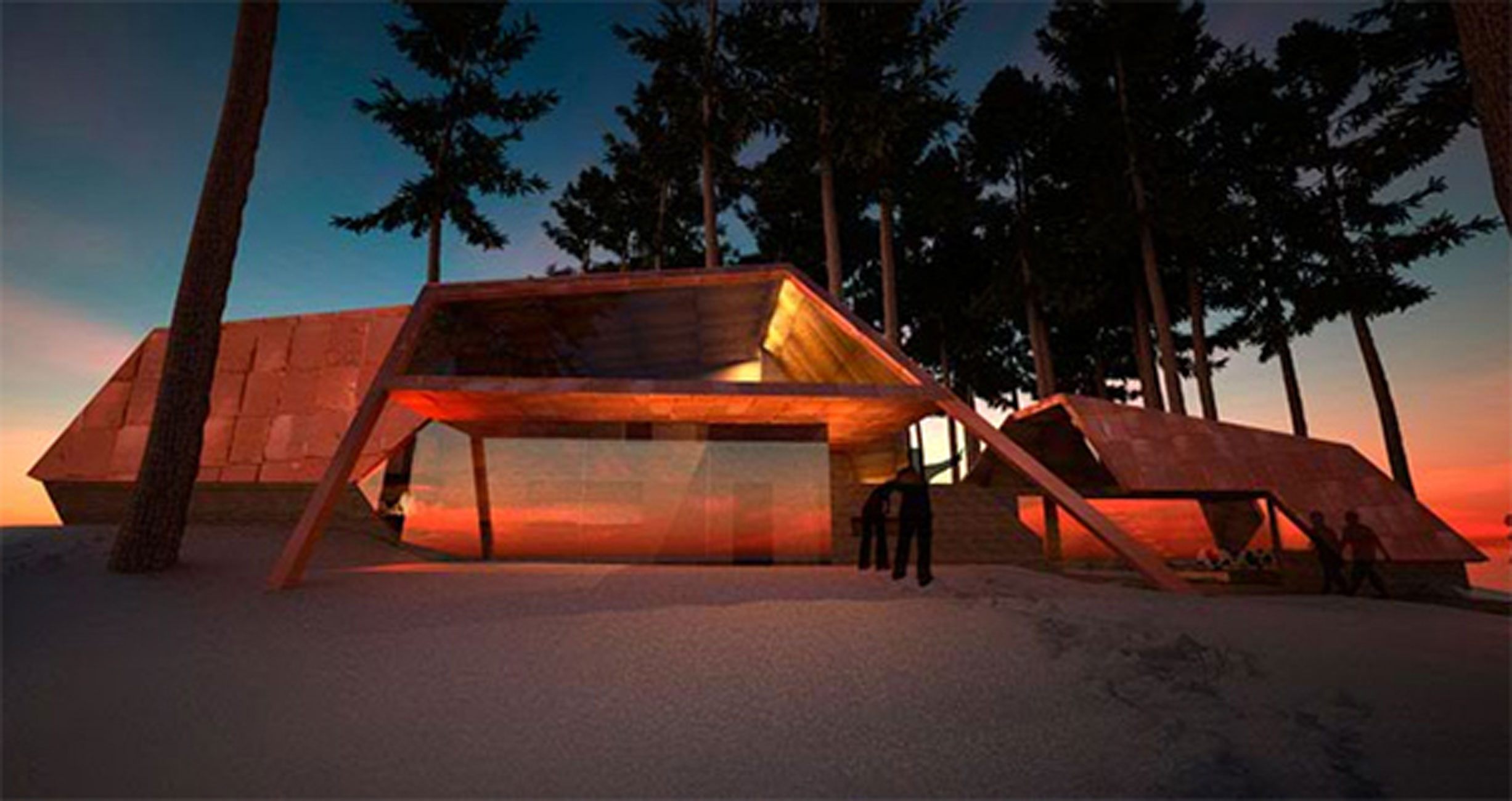Sweden Houses Design Retro Futuristic Retreat House Design In Sweden Facade