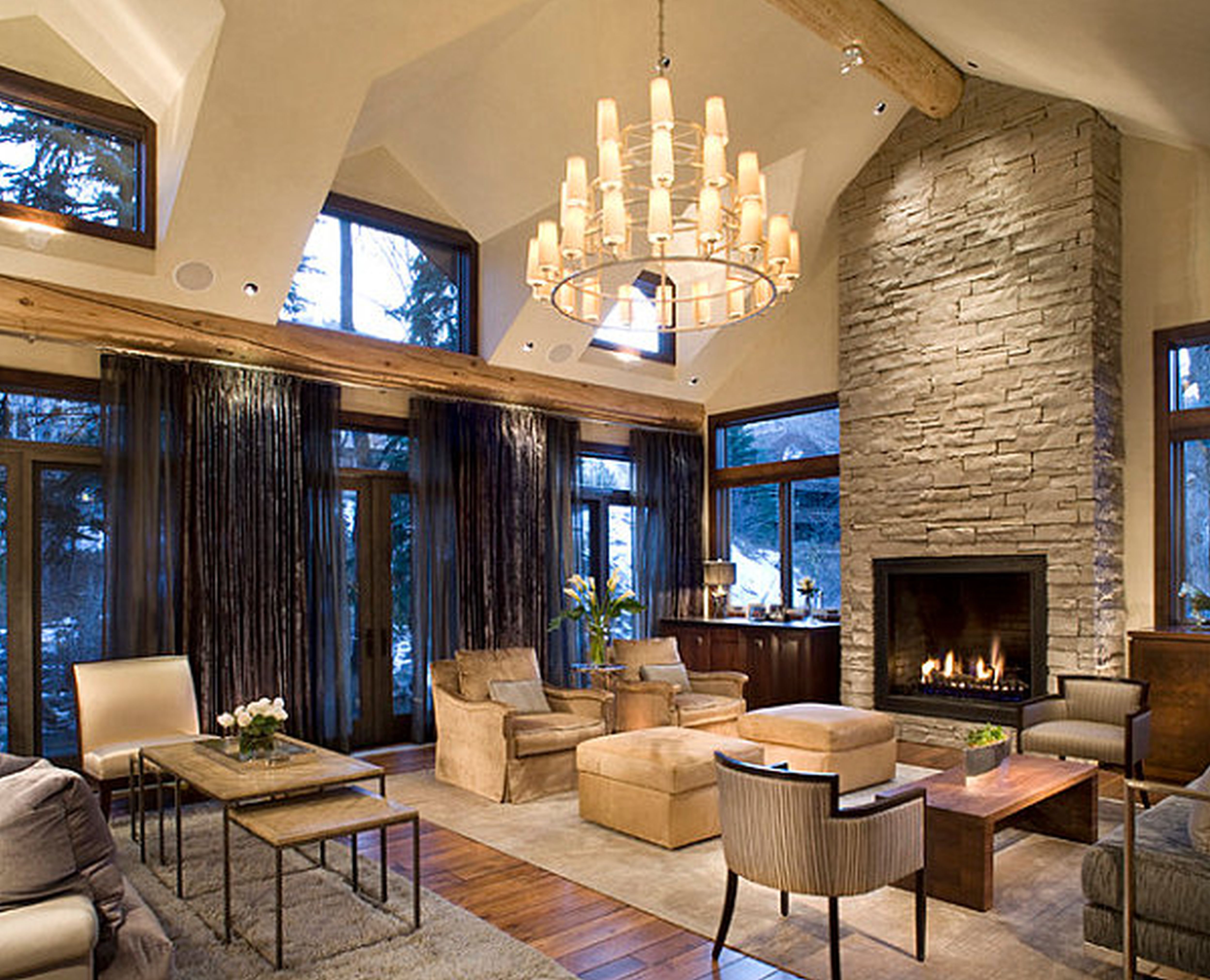 Astonishing Rustic Meets Modern Living Room Interior Decoration Ideas Viahouse Com