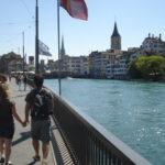 Rodando de Roma a Zurique em 12 dias de viagem