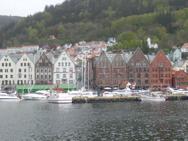 Noruega_vista Bergen_Viajando bem e barato pela Europa