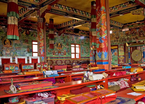 templo budista_interno_viajando bem e barato