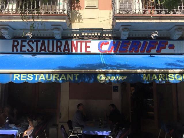melhor paella em Barcelona_Cheriff_Viajando bem e barato
